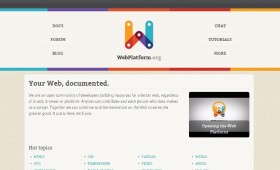 WebPlatform: The Web Development, Documented