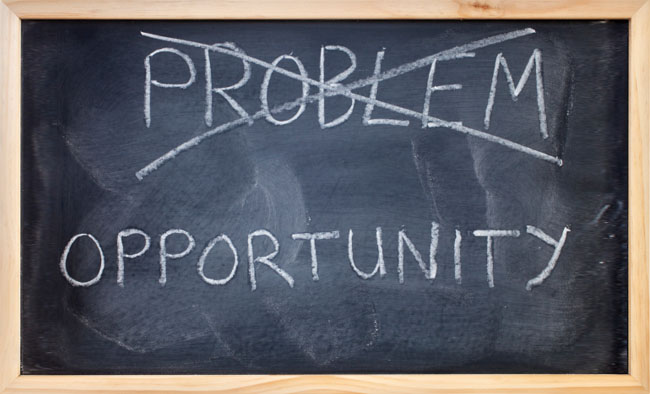View Every Problem as an Opportunity to Grow