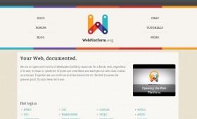 WebPlatform: The Web Development, Documented