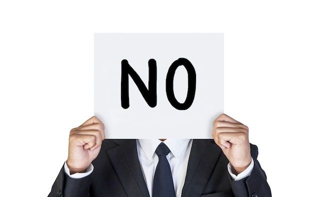 The Strategic Power of Saying No