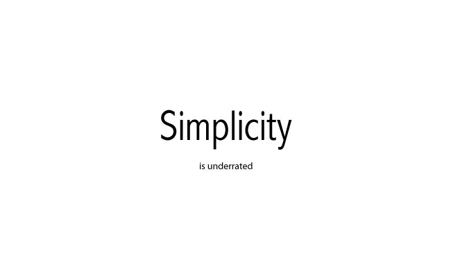 Simplicity, The Art of Maximizing the Amount of Work Not Done